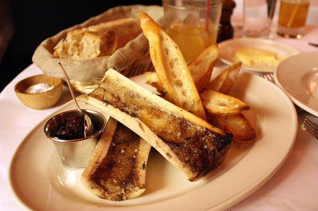 Roasted Bone Marrow With Shallot And Currant Confit Recipe ...
